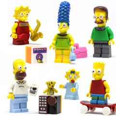 SIMPSONS - 6 PERSONAGENS