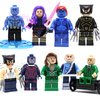 X MEN - 9 PERSONAGENS (KIT 1)