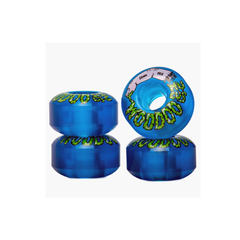 Ruedas Woodoo Mucus Blue Clear 53mm - comprar online
