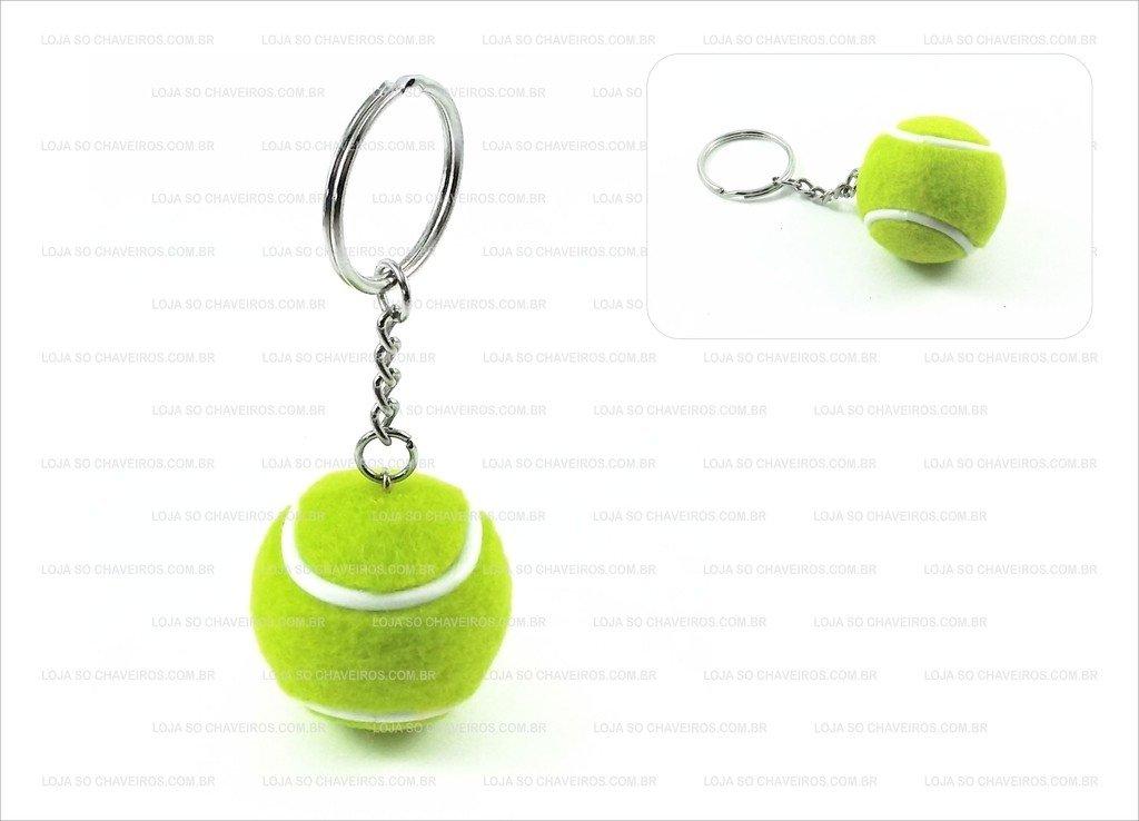 f38c30ba42d Chaveiro Bolinha de Tennis - Loja Só Chaveiros