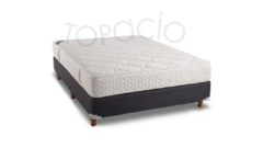 Sommier y Colchón TOPACIO Doux  Pillow  140x190cm RESORTES