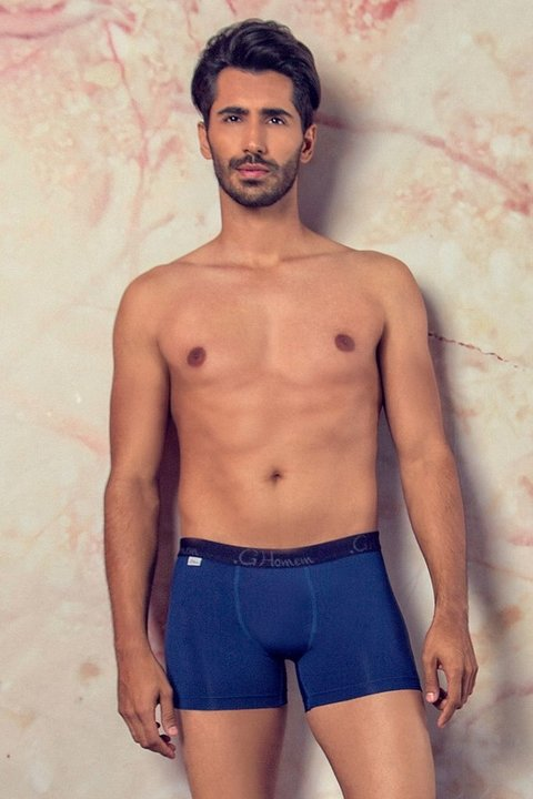 Cueca Box Deep Blue