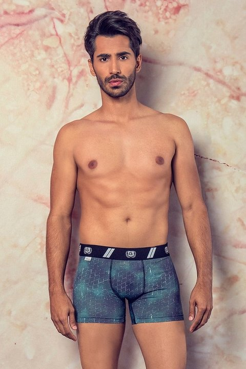 Cueca Box Dark Green