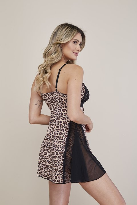Camisola estampa digital Animal Print. - comprar online