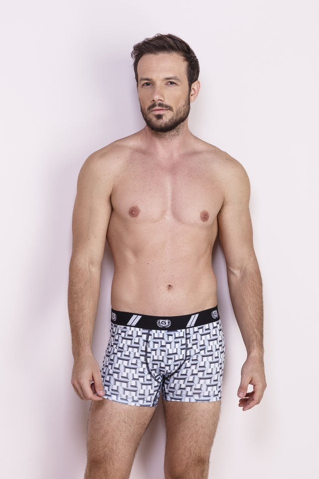 Cueca Box Estampada