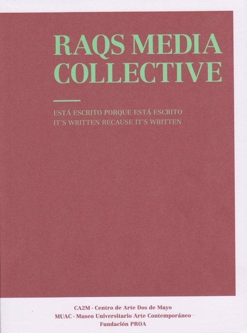 RAQS MEDIA COLLECTIVE - comprar online