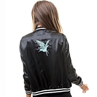 Campera Unicorn Larga (Negra)