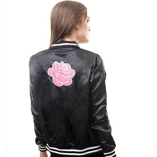 Campera Rosemary Larga (Negra)