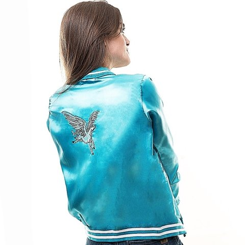 Campera Unicorn Larga (Turquesa) en internet