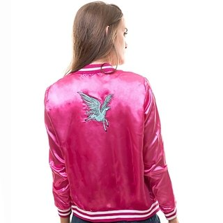 Campera Unicorn  Larga (Pink)