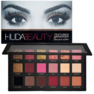 Set de Sombras HUDA Beauty - Textured Eye Color Shadow Rose Gold Edition