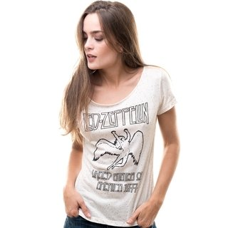 Remera Led Zeppelin (Natural)