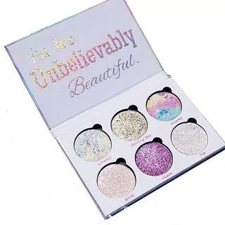 Set de Sombras Glitter Eyes - Unicorn Mermaid Glitter