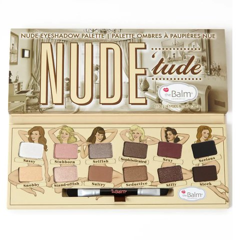 Set de Sombras The Balm - Nude Tude
