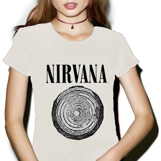 Remera Nirvana (Natural)