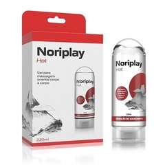 Noriplay Hot Gel Massagem Oriental Corpo A Corpo Co331