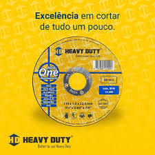 Disco de corte Heavy Duty - All In One - Multimaterial 115mm - comprar online