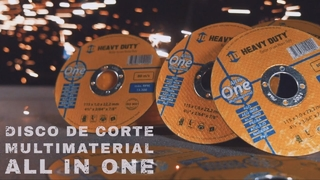 Disco de corte Heavy Duty - All In One - Multimaterial 115mm na internet