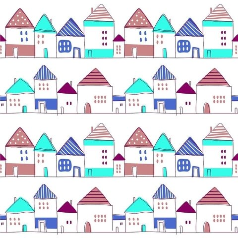 Casitas colores en internet