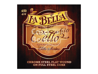 650 La Bella Elite Series Cuerdas para Cello