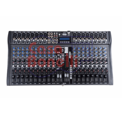 MIXER DE 20 CANALES CON USB MOON MC20USB