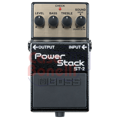 Pedal de Efecto Power Stack Boss ST2