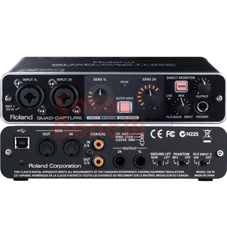 Interface de audio Quad Capture con usb 2.0 Roland UA55