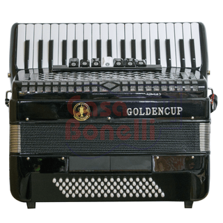 Acordeon a Piano Golden Cup 80 Bajos JH2006BK
