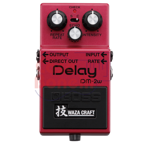 Pedal de Efecto Delay Waza Craft Boss DM2W