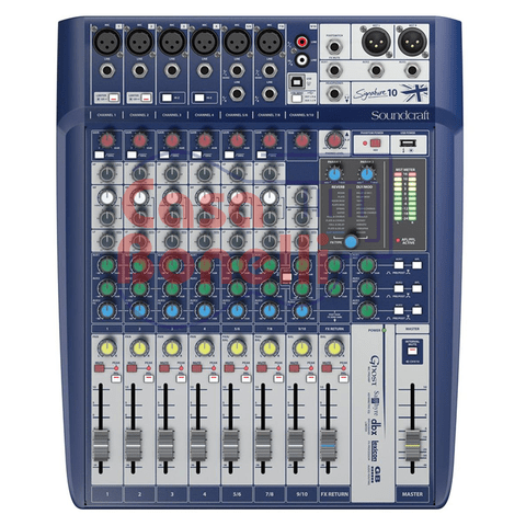 MIXER de 10 canales SOUNDCRAFT SIGNATURE 10
