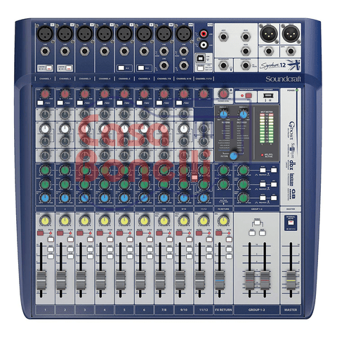 MIXER  de 12 canales SOUNDCRAFT SIGNATURE 12