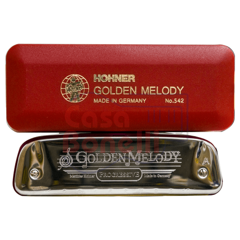 Armonica Blusera Hohner Golden Melody D