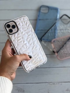 Funda Diamonds Blanco