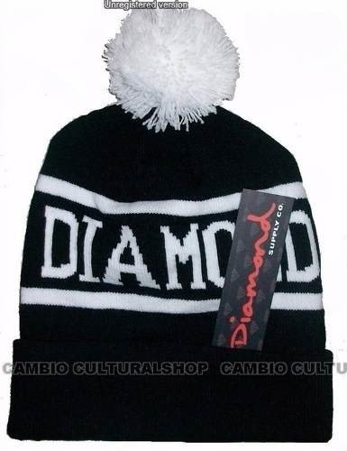 Touca Gorro Beanie Supply Diamond Pompom Skate Hip Hop - Encomenda Direta