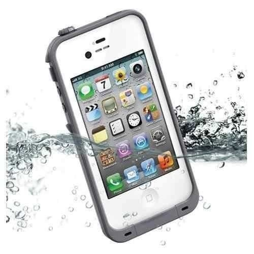 Capa Case Waterproof Iphone 4 4s 5 5s Prova Água Poeira Ar com Touch - comprar online