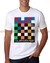 Camiseta Masculina Quiksilver Colored Square Branca