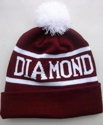 Touca Gorro Beanie Supply Diamond Pompom Skate Hip Hop na internet