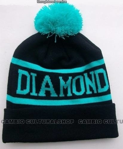 Touca Gorro Beanie Supply Diamond Pompom Skate Hip Hop - loja online