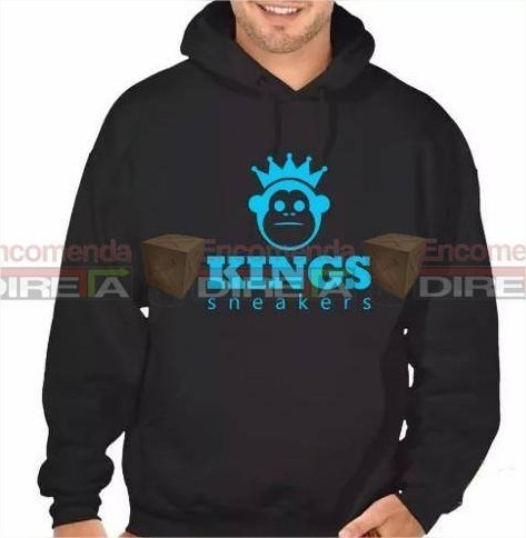 Blusa De Moletom Masculino Kings