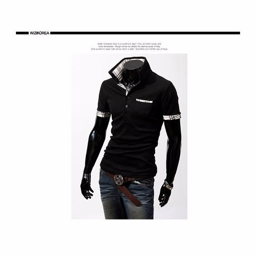 Camisa Polo Masculina Trend Laiso Gola Stand Homem 2016 Curi - comprar online