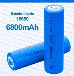 Bateria Recarregável 6800mah Lítio Nk18650 3.7v Profissional