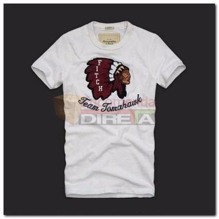 9ddddf4e2 Camiseta Abercrombie Slim Fitch Original 100% Algodão