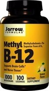 Metilcobalamina Methyl Vitamina B12 Sublingual 1000mcg Jarrow
