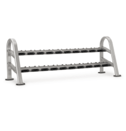 Star Trac - Dumbell Rack 10-Pair/2 Tier