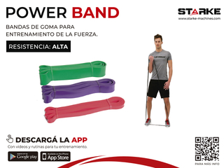 POWER BAND - TENSION ALTA/HARD - comprar online