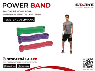 POWER BAND - TENSION BAJA/LIGHT - comprar online