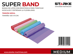 SUPER BAND LATEX - MEDIA/MEDIUM - comprar online