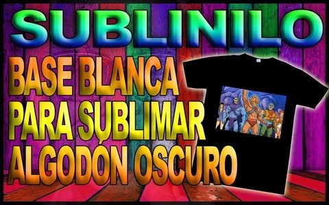 10 Hojas - A4 - Sublinilo 3.0 - Base Blanca Sublimable