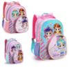 141781 MOCHILA INF FEM 16´´ LITTLE GIRLS C/BOLSO