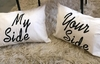 Par de almohadones MY SIDE/YOUR SIDE